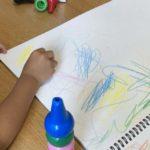 2020.10.03(Sat) アンパンマンの絵を描く息子