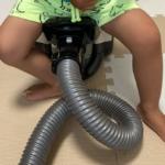 2020.07.29(Wed) 掃除機に乗る息子