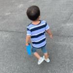 2020.07.30(Thu) 七夕の短冊を自分で持って帰る息子