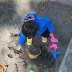 2020.10.17(Sat) 砂遊び職人の息子