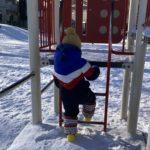 2021.01.02(Sat) 冬の公園の息子