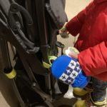 2021.01.05(Tue) 寒い格好で外に出る息子