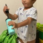2020.09.17(Thu) 包帯をやめられた息子
