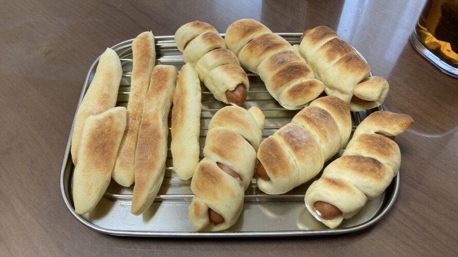2021.04.03(Sat) パンを焼くお手伝いをする息子