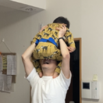2021.05.03(Mon) 逆肩車にハマる息子
