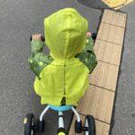 2021.07.06(Tue) 雨ガッパを着て帰る息子