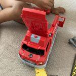 2021.08.05(Thu) 消防車で大喜びの息子